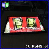 Aluminum Magnetic Frameの細いLED Advertizing Light Box