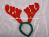 Astas de navidad de la banda de la cabeza diadema de Navidad de Navidad