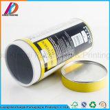 Zoll gedrucktes Zinn-Kappen-Papier-Gefäß für das Tee-Verpacken