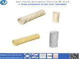 PPS와 PTFE 섬유 공장 제조자에서 먼지 주거를 위한 비 길쌈된 여과 백
