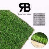 Alfombra sintetizada artificial de la hierba del césped del césped de la decoración del camino para ajardinar