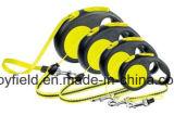犬の鎖のナイロンカラー耐久の引き込み式ペット鎖