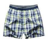 Personalizzare lo Short del pugile tessuto uomini popolari del cotone