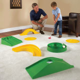 ホーム、幼稚園、公園の運動場のための小型ゴルフ演劇の一定の適した