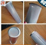 100 lavabili tubo filtrante freddo di doppio strato del caffè di Brew del vaso di muratore dell'acciaio inossidabile delle 120 maglie