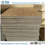 Recipiente Keruing piso de madeira compensada de envio