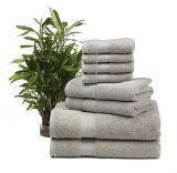 De Reeksen van de Badhanddoek van de douane 8PCS van 100% Katoen voor Hotel worden gemaakt dat