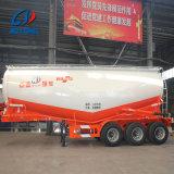 이중으로 한다 또는 Tri Axles Charcoal Low Density Powder Material Tanker Trailer (선택 양)는