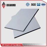Painel de alumínio da fachada da espessura da prata 4mm 0.3mm de Ideabond (AF-403)