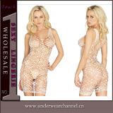 Adulto Sexy Mulheres Acetinado Erótico Babydoll31069-2 Sleepwear pijamas (T)