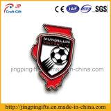 Distintivo su ordinazione promozionale di Pin del risvolto della Jersey del metallo 2017