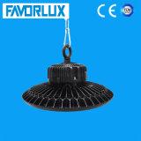 Luz industrial de la bahía del UFO LED de la luz del almacén de AC85-265V 100W alta