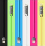 Aplicar uma combinação Android com dois cabos de dados USB