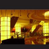 Hoja de acrílico transparente de piedra de alabastro flexible para la Decoración de pared/Hotel