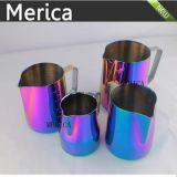 Coupe de café / tasse de lait colorée en acier inoxydable en latte