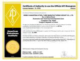 Tubo de acero de carbón del API 5L/ASTM A53/EN10210 S355J2H ERW/HFW