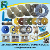 Las hojas de sierra de diamante de mármol de Romatools