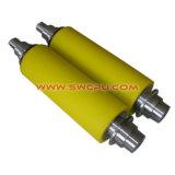 Customized V Correia Transportadora de tipo plástico de Nylon Capas do Rolamento de Roletes Polia Esteira