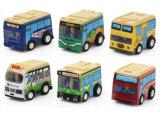 Mini barramento dos mini carros dos desenhos animados do brinquedo do presente da promoção do carro (2818)
