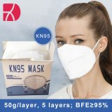 KN95/FFP2 Protecção máscara facial de 5 camadas