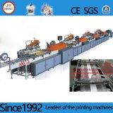 Cores do ecrã de Identificação Automática de grandes máquinas de impressão