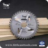 Peu de la marque ant 4 /110*40t de matériaux en bois de lame de scie de coupe