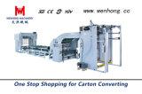 2019 Le Carton ondulé papier machine automatique de la flûte de plastification