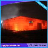De openlucht Opblaasbare Kubieke Tent van de Partij met LEIDEN Licht (Tent2-052)