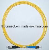 9/125 Simplex ST/PC-FC/PC Patchlead fibra