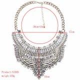 Halsband van de Legering van de alle-Gelijke van het Mozaïek van het Kristal van Facotry de In het groot Retro Glanzende