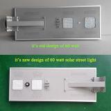 Inteligente de alta calidad LED LED de luz solar al aire libre del Sistema de Alumbrado Público solar 6W-120W