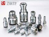 Msha reconnaissent le boyau hydraulique de qualité avec la connexion de liquide de Zmte