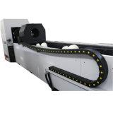 автоматический автомат для резки лазера волокна трубы подавая пробки 700/1000W