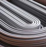 tubulação 304 316 de aço inoxidável sem emenda para o cambista de calor