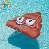 Поплавок бассеина фекалий табуретки дерьма раздувной клубники игрушки воды плавая