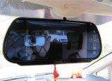 Ecrã LCD TFT de 7 Vista traseira do carro/ Monitor Espelho Retrovisor com USB/SD/MP5 opcional