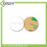 Étiquette de papier RFID 13.56MHz sur étiquette d'autocollant métallique NFC