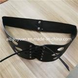 Lady collants de la taille de la forme de chaîne de la courroie en cuir