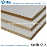 Panel de fibras de madera sin procesar/de Laminatd MDF/Medium de la densidad para los muebles
