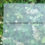 el ácido de 6m m grabó al agua fuerte el vidrio, vidrio helado, vidrio semitransparente, toma las huellas dactilares el vidrio libre
