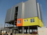 Edificios de la estructura de acero para el apartamento y la oficina