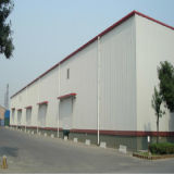 Acier de charpente pour centre logistique de l'entrepôt (KXD-SSW1087)