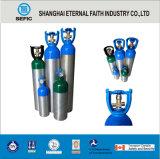 Cilindro de gás de alumínio médico portátil pequeno do oxigênio