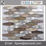 Mosaico de mármol natural mezclado del acero inoxidable para el material de construcción