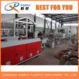 Cadena de producción del estirador de la estera de la bobina del PVC de dos estiradores