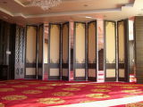 대중음식점과 호텔을%s Parititon 방음 미끄러지는 벽