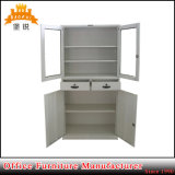Meio Altura, aço, porta de vidro, móveis, instrumento metálico, laboratório, arquivo, armário, armário
