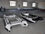 Het Rennen China van Liya de Snelle Opblaasbare Boot Hypalon van de Hoge snelheid (KS335)