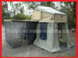 Tenda do telhado com anexo e rede anti mosquito