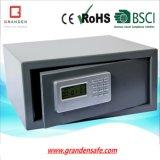 파란 LCD 디스플레이 (G-42BE)를 가진 호텔 안전, 단단한 강철